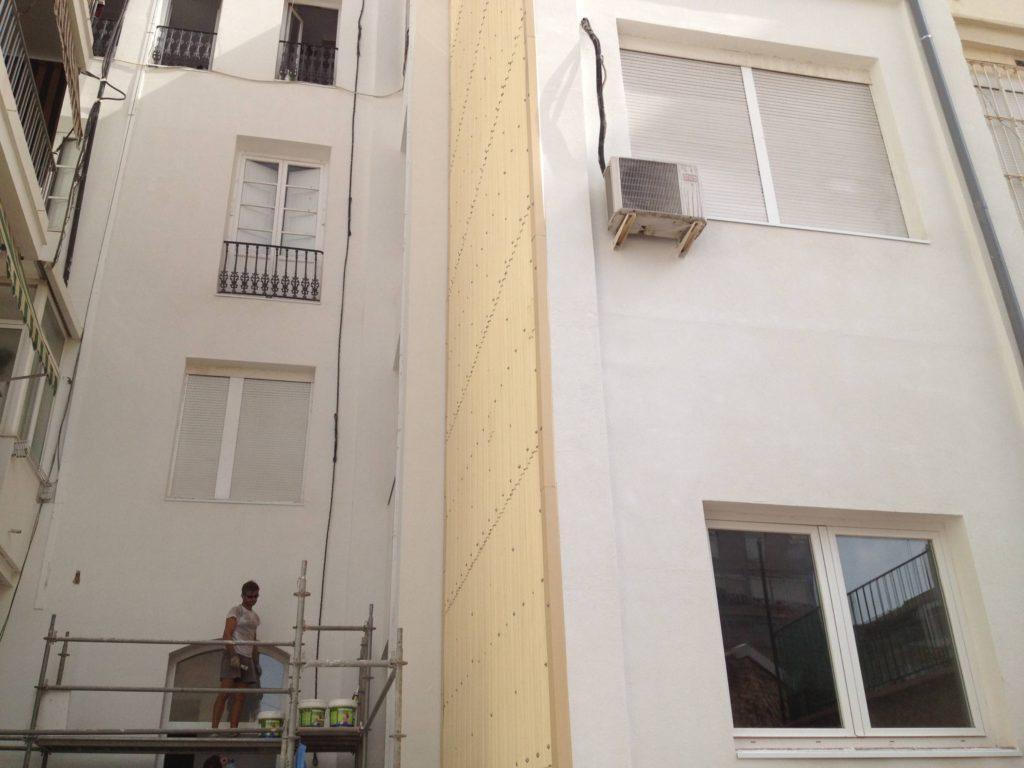 Foto 5 de colocacion tabique pluvial en Valencia